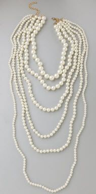 Nestled Pearl Necklace