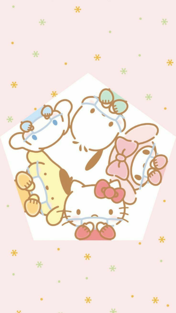 Sanrio Freunde Wallpaper Hello Kitty Pictures Cute Cartoon Wallpapers Hello Kitty Art
