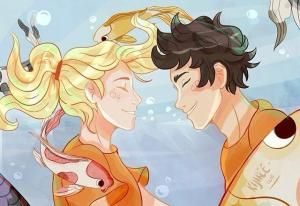 Annabeth Chase and Percy Jackson. Percabeth by nelda
