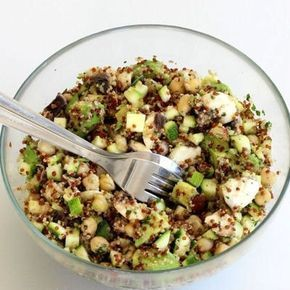 Taboulé de quinoa pois chiche et avocat