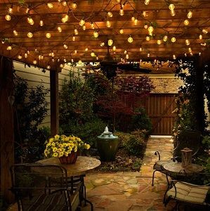 Pick Up These Vintage Warm White LED Indoor Outdoor Globe String Lights For  A Great