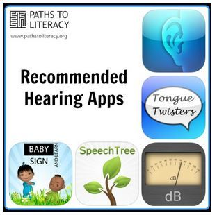 List of Apps for Working with Children Who are Hearing Impaired - pinned by @PediaStaff – Please Visit  ht.ly/63sNt for all our pediatric therapy pins