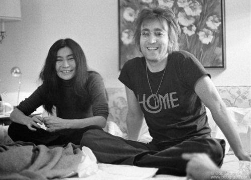 Лохматый! Джон Леннон и Йоко Оно в Сент-Мориц, Нью-Йорк 1972, Боб Груэн