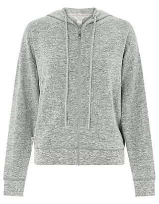 With shimmering silver thread to the cuffs, hem and drawstrings, our grey marl hoody from the Spirit of Accessorize collection will add a seriously stylish f...