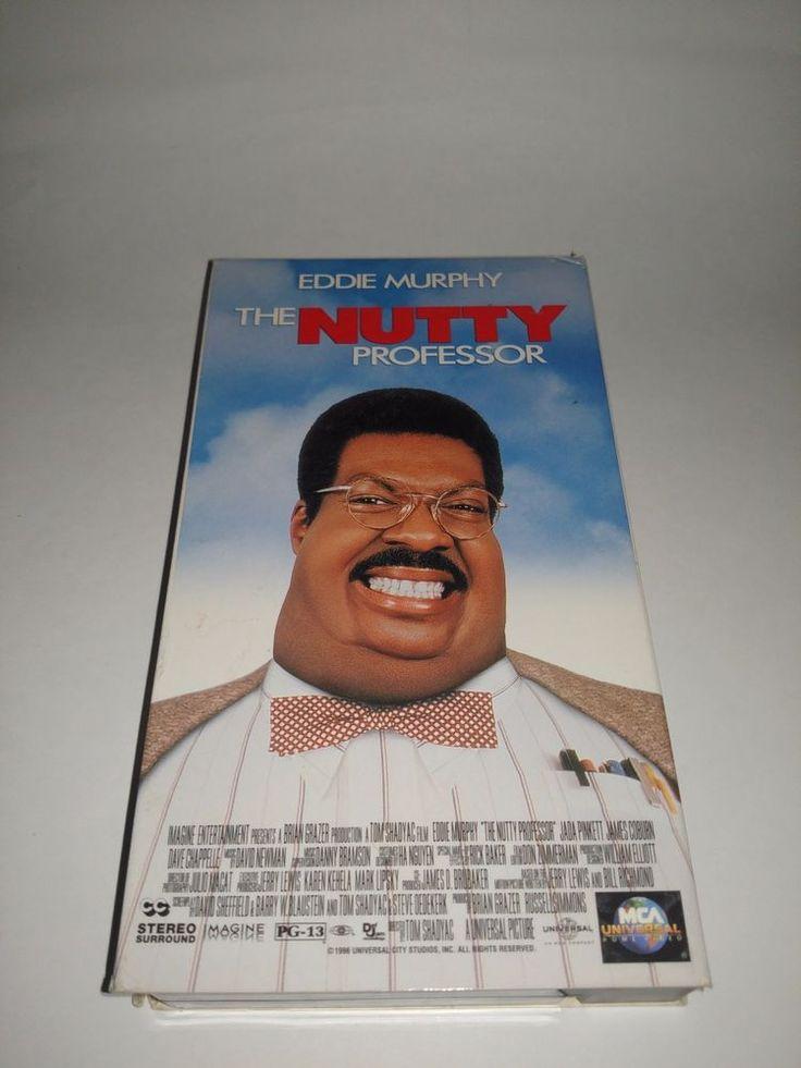 The Nutty Professor (VHS, 1996) Eddie Murphy VCR Tape