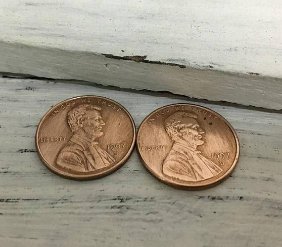 1998 penny keychain, 20th wedding anniversary gifts for men, 20th wedding gift husband, 1998 lucky penny, 20th anniversary gifts for husband