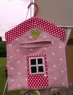 Cottage peg bag
