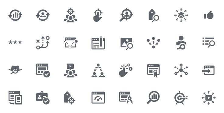 Hundreds of vector icons - Perfect for iOS 8, Android, web sites, and…