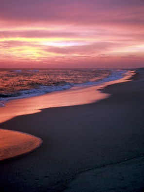 Pensacola Beach Sunset I, by Valerie.