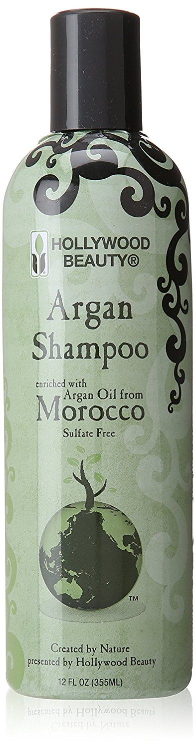 Hollywood Argan Shampoo, 12 Ounce >>> See this great product.