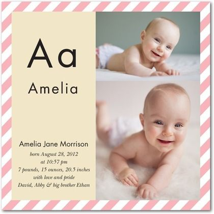 10 best The New Baby images – Walgreens Birth Announcements