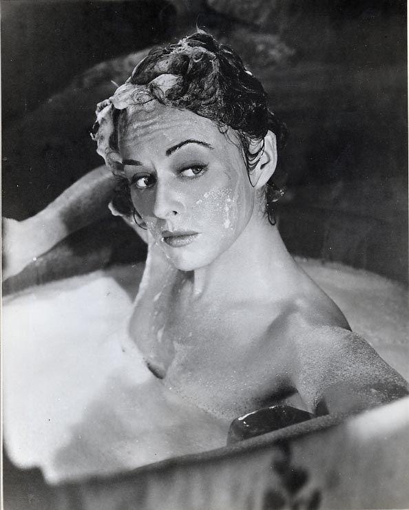 "Bath Time: Paulette Goddard in ""Unconquered"" (1947)"