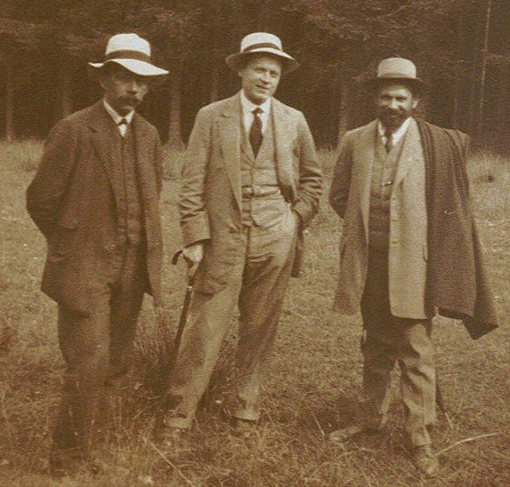 Jan Honsa, T.F. Šimon and Richard Lauda.