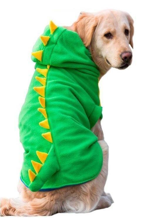 64bfeede14e Big Dog Dinosaur Hoodie Let your dog get prehistoric with the Big Dog  Dinosaur Hoodie!