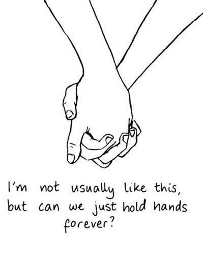 Holding Hands Love Quote - ImageLoad