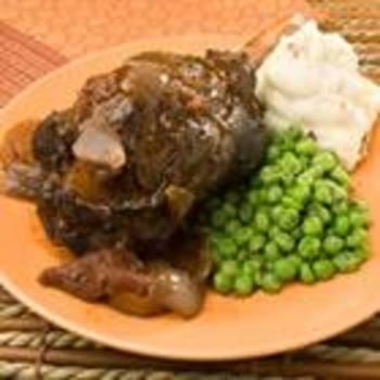 braised lamb shanks in cranberry recipe yummly lamb shanks braised ...