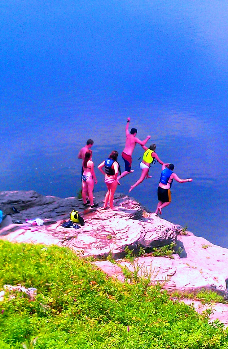 New york sullivan county narrowsburg - Cliff Jumping In Narrowsburg Ny
