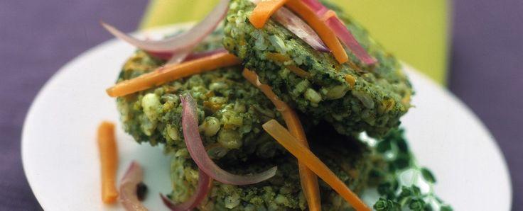 crocchette-di-orzo-carote-e-spinaci ricetta