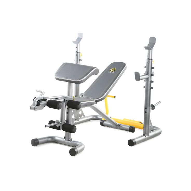 Gold's Gym XRS 20 Deluxe Weight Bench, Multicolor