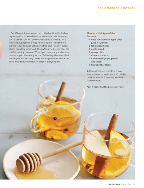 Mormor's Hot Apple Cider from sweet paul magazine. Made with cider ...