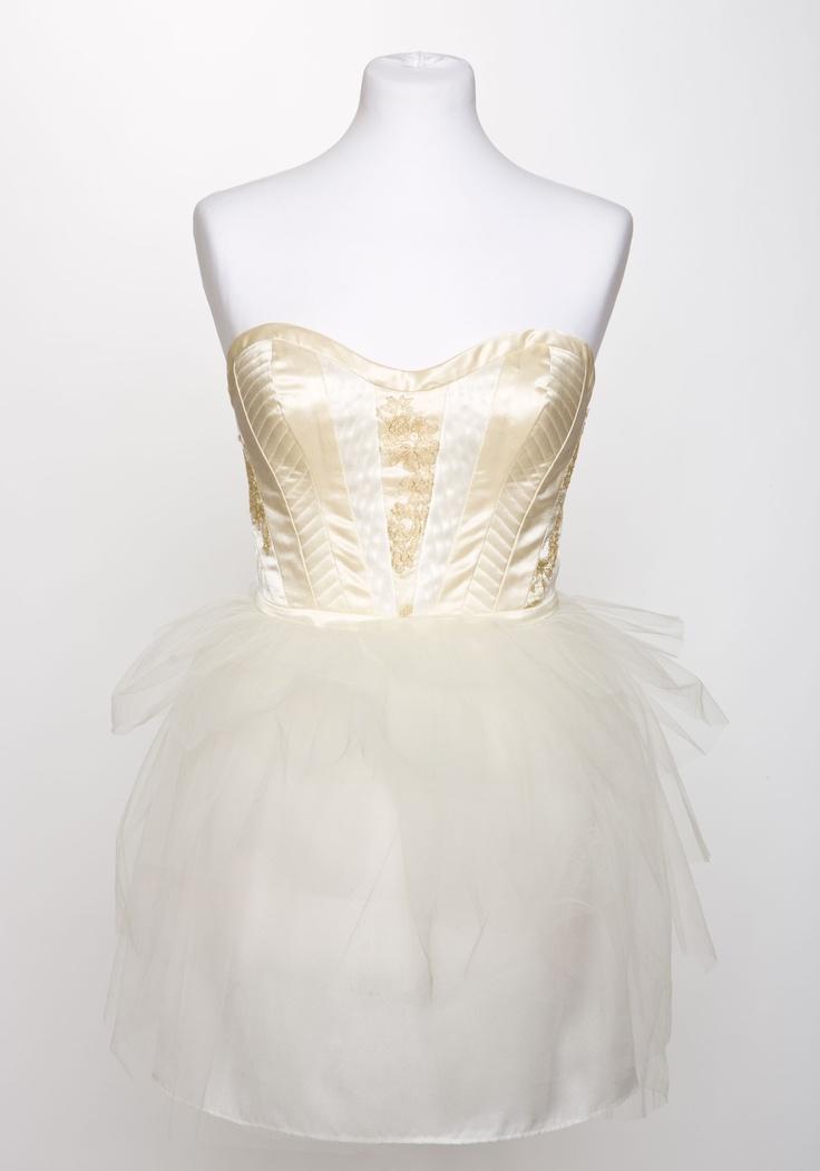 Bespoke Cocktail Dress by Clara Waldburg Couture
