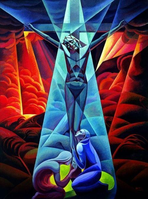 Luigi Russolo: Crucifixion (1928)