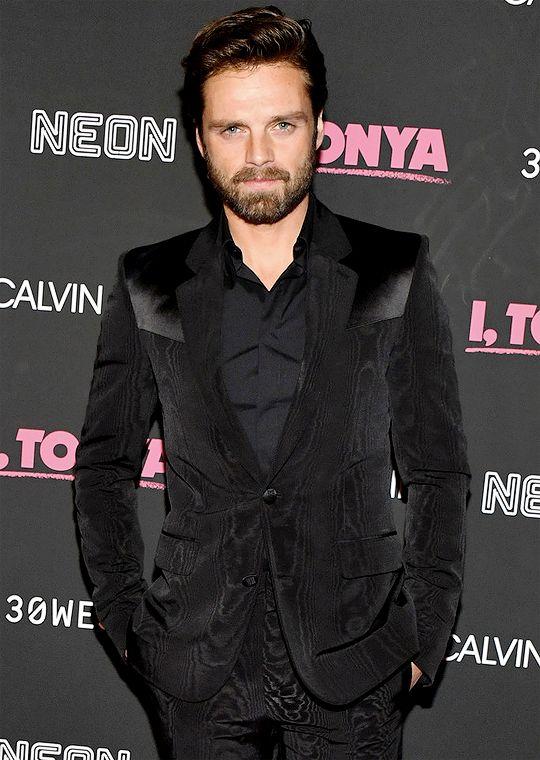 Sebastian Stan attends the 'I, Tonya' New York Premiere at Village East Cinema on November 28, 2017 in New York City.
