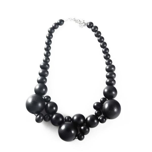 Vivid Jewellery - Sonrisa Necklace Black