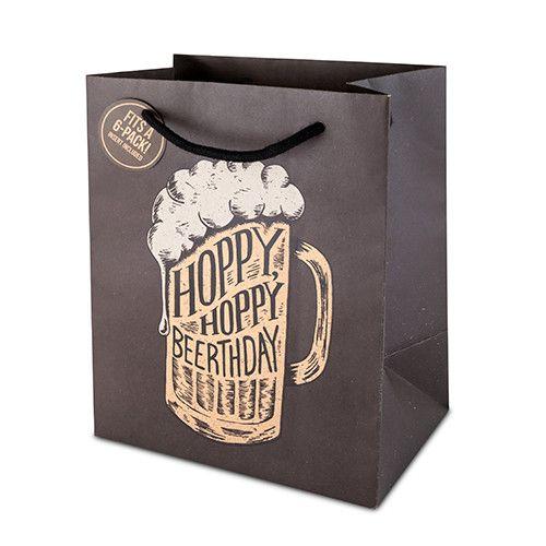 Hoppy Beerthday 6 Pack Bag