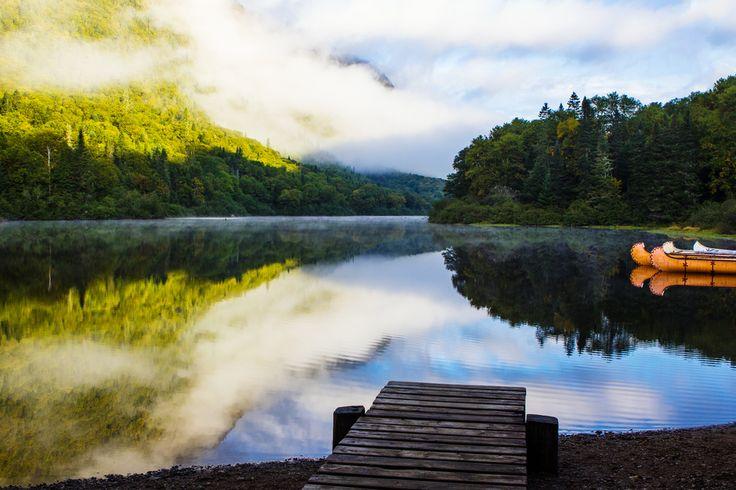Rivière Jacques-Cartier, parc national de la Jacques-Cartier | 20 paysages québécois à couper le souffle