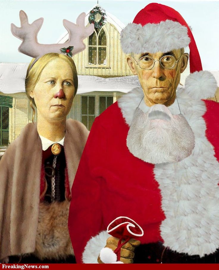 Christmas #american gothic                                                                                                                                                                                 More