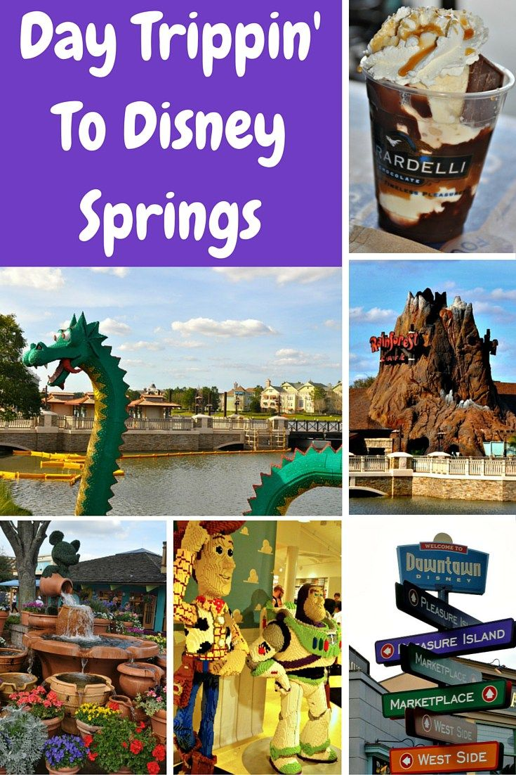 disney springs i.e. downtown Disney in Orlando. Must see places