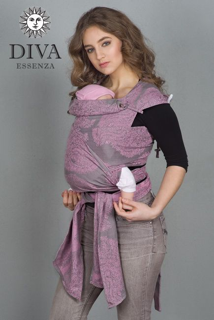 """Diva Essenza Mei Tai is the right product for those who seek for """"one wrap for all the babywearing period"""", for an affordable price. Free shipping!"""