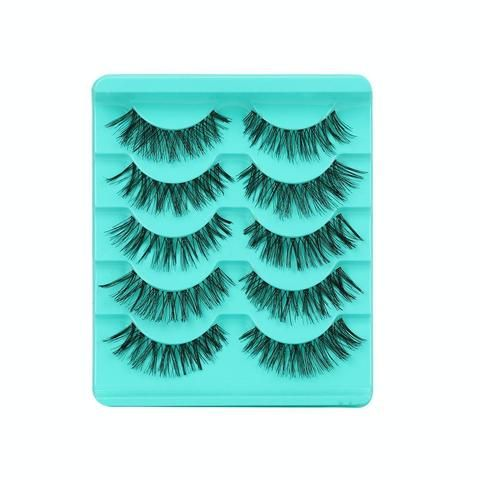 1fa1a2680eb Big sale! New Hot Selling High Quality 5 Pair/Lot Crisscross False  Eyelashes Lashes