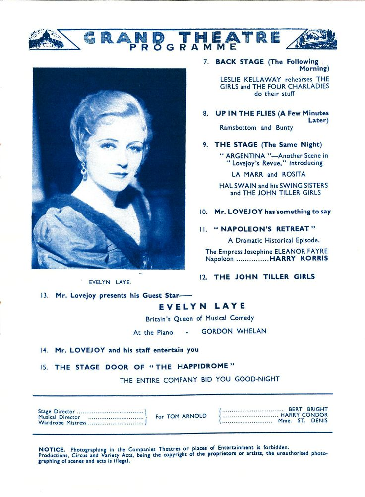 Evelyn Laye - Britiain's Queen of musical comedy