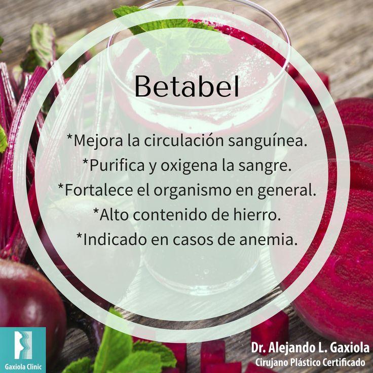 Conoce los beneficios de incluir #betabel en tu alimentación.