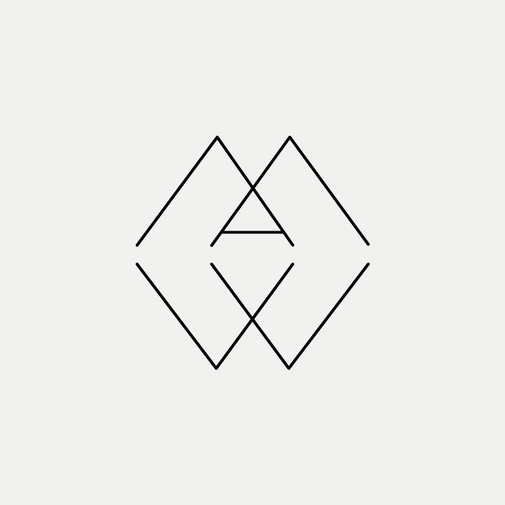 AMW Contemporary monogram by British freelance logo designer Richard Baird - www.richardbaird.co.uk