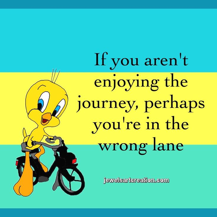 cute pictures, tweety bird, cute quotes, life quotes, life's journey