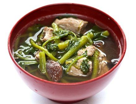 Hawaiian Pork & Watercress Soup