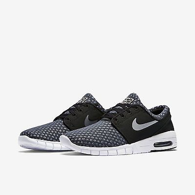 Nike sb #stefan #janoski air max black skateboard trainers #631303 004, View