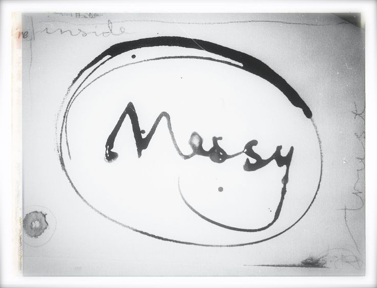 Messy (lettering by C. Halsor)