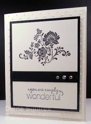 Stampin' Up! Fresh Vintage in Black and White