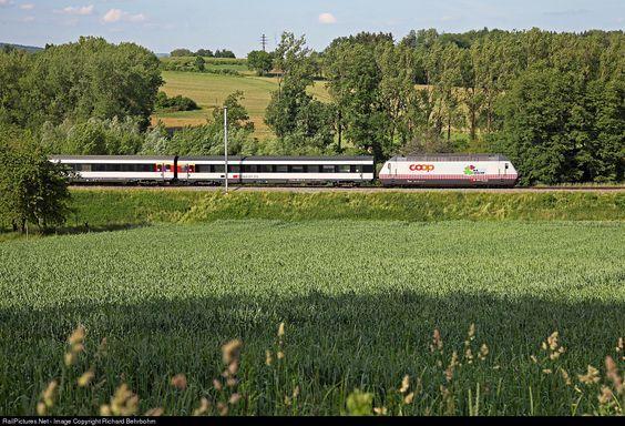 RailPictures.Net Photo: 460 083 SBB Re 460 at Lottstetten, Germany by Richard…