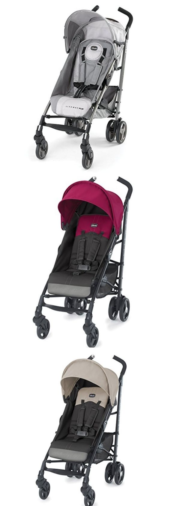 On our list of the top ten best umbrella strollers is the Chicco Liteway. Why We Love It: If you're interested in a stroller that is aesthetically pleasing, then the Chicco Liteway is worth taking a look at. It is both stylish and bold, comes in trendy colors, has modern tailoring, eliptical tubing, and high-tech wheels. It features a one hand adjustable fully reclining seat with five positions, an adjustable leg rest with two positions, and a hide-away... Continue Reading