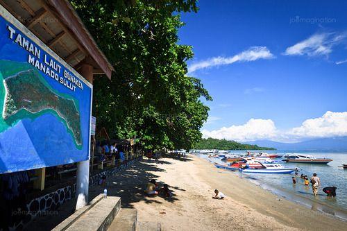 Bunaken Island White Sand View