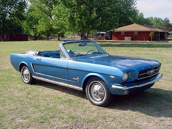 1965 Mustang Convertable, just about the only ford I would ever consider buying.