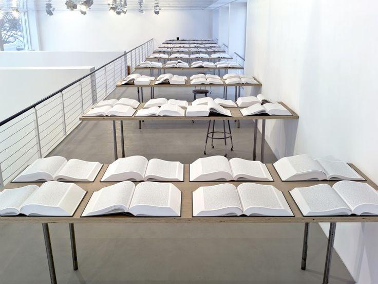 "Rachel Khedoori, ""Untitled (Iraq Book Project),"" 2008-2010"