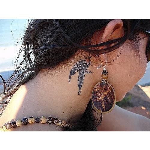 #tattoo #girl #dreamcatcher