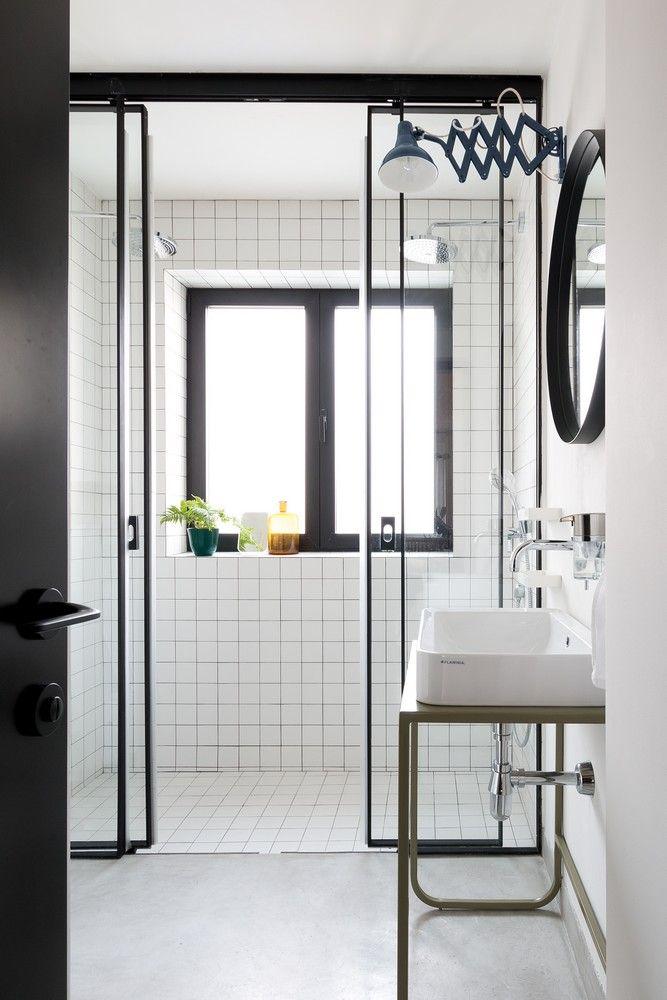 un lieu diff rent entre m tal et bois en 2019 salle. Black Bedroom Furniture Sets. Home Design Ideas