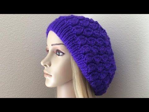 How To Knit A Teardrop Hat, Lilu's Knitting Corner Video # 69 - YouTube